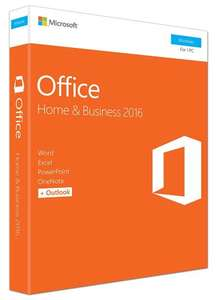 Microsoft Office Home and Business 2016 (PC) £144.59 @ AMAZON