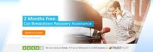 2 MONTHS FREE BREAKDOWN COVER - e.g Recovery Basic £2.47 monthly @ 247home rescue