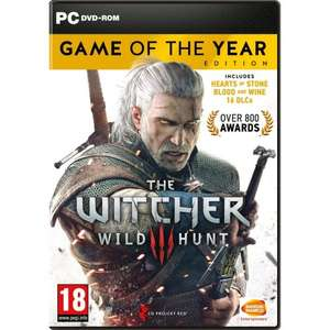The Witcher 3: Wild Hunt - Game of the Year Edition PC | £17.49 | Steam