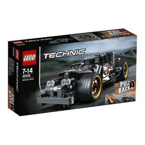 LEGO Technic 42046: Getaway Racer Mixed at amazon £11.99 with prime