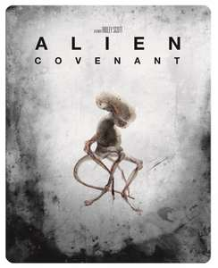 Alien: Covenant 4K Ultra HD Limited Edition Steelbook (plus blu ray & digital copy) - £22.99 delivered @ HMV