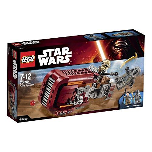 LEGO Star Wars 75099 Rey's Speeder save 50% now £9.99 (Prime) / £13.98 (non Prime) at Amazon