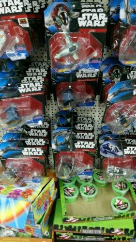 star wars toys £1 in Poundworld (Derby)