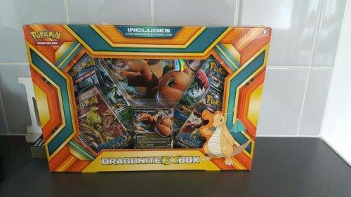 pokemon cards -  dragonite ex box  £4.50 Tesco instore