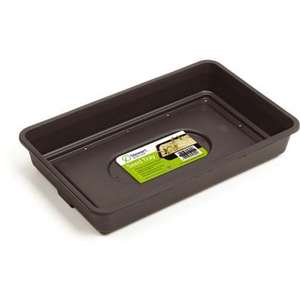 Homebase Black seed tray - 3p @ Homebase
