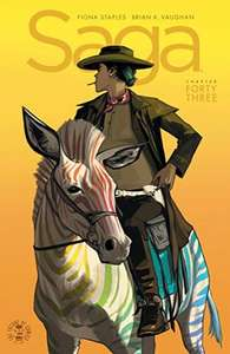 Saga #43 digital comic 18p Comixology/22p Amazon Kindle