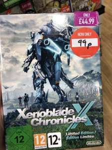 Xenoblade Chronicles X Limited Edition 99p New Wii U @ Game instore
