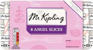 Mr Kipling Angel Slices 8Pk Half Price was £2.25 now £1.12 @ Tesco