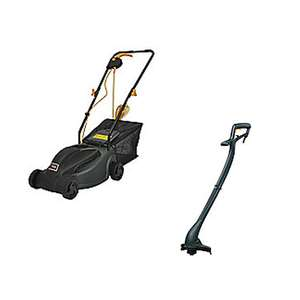 250W Grass Trimmer £13.50 / 1000W Electric Rotary Lawn Mower £36 @ Tesco - Free C&C