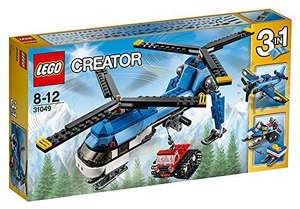 LEGO 31049 Creator Twin Spin Helicopter Construction Set only £9 Prime / £13.75 Non Prime @ Amazon