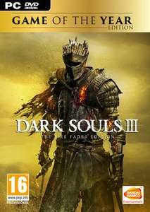 Dark Souls III Game of the Year Edition (Back In stock) PC £19.99 @ Game