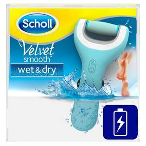 Scholl Velvet Smooth Wet and Dry Pedi Rechargeable Electric Hard Skin Remover was £59.99 now £27.49 delivered @ Amazon