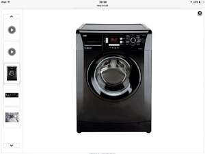 Beko WMB714422B 7kg Load, 1400 Spin Washing Machine - Black at Very for £189.99