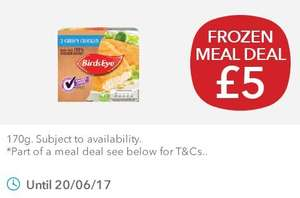 Coop £5 frozen meal deal