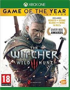 The witcher 3, game of the year edition Xbox one £17.87 (Prime) / £19.86 (non Prime) at Amazon