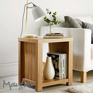 Mayfair Chunky Wooden Side Table £24.99 Home Bargains