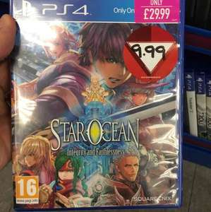 Star Ocean Integrity and Faithlessness (PS4) £9.99 Instore and Online @ GAME