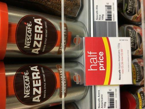 Azera coffee £2.69 from £5.39 americano barista style coffee £2.69 - McColls