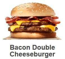 Burger King App Deals for June - Bacon Double Cheeseburger and Small Fries £1.99 + More! (Updated)