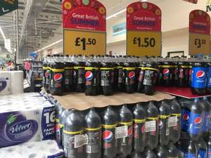 Pepsi 3L Bottle (Max and Regular) £1.50 @ Morrisons