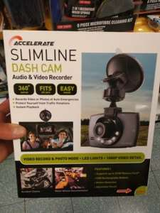 Slimline Dash Cam £14.99 @ Home bargains