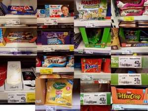 Huge Confectionery discounts @ Asda [Kinder Chocolate 8 bar 25p, Haribo Minions 352g 82p, Jelly Tots Minis 120g 42p + More]