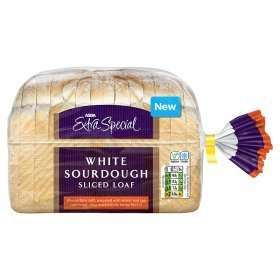 Sliced white sourdough bread 450g 65p @ Asda