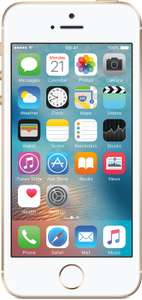 iPhone SE 16GB (Gold) - Unlimited Minutes, Unlimited Texts, 1GB Data on EE £13.99pm w/ cashback redemption - £17.99pm before (24mo, no upfront) £431.76 @ mobiles.co.uk