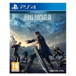 Final Fantasy XV Day 1 Edition + Final Fantasy XV Masamune, Saber & Gourmand DLC @ SHOPTO