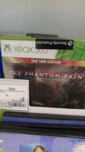 Phantom Pain xbox 360 £2 @ Asda Chadderton
