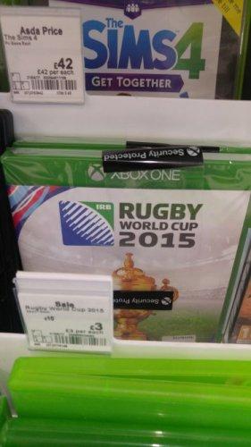 Rugby World Cup 2015 £3 @  Asda Chadderton