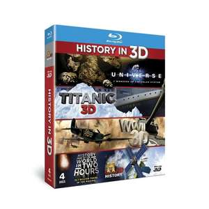 History in 3D Blu-Ray Box Set £8.99 Prime OR £10.98 with Standard Del. at Amazon Sold by CannyStore