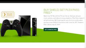 Buy Nvidia Shield TV and Get 6 Months Plex Pass Free £189.99 @ Amazon & Nvidia