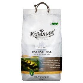 Kohinoor Extra Fine Basmati 10kg was £14.98 now £10.00 at Asda (Instore & Online)