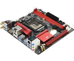 ASRock Flagship Z170 Mini-ITX, HDMI 2.0, Headphone Amp, Fatal1ty Z170 GAMING-ITX/AC - £124.58 @ More Computers