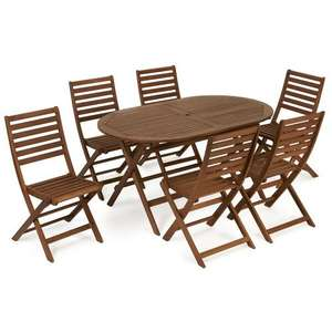 6 seater FCS Wooden Patio Set now only £150 (possible £135) @ Wilko (Free C+C or  Free delivery while stocks last + possible 10% TCB)
