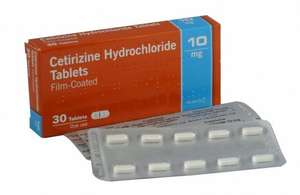 Cetirizine Hydrochloride for Hayfever / Allergies - 12 x 30's = 360 (12 months / full year supply) £6.99 with FREE delivery @ eBay / homehealth-uk