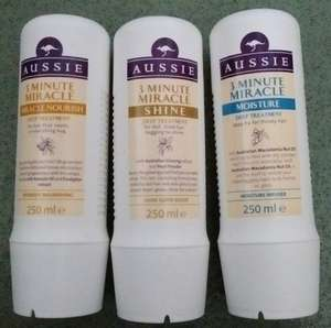 Aussie 3 minute treatments was £4.50 then £3.50 now £1.75 and 3 for 2 (3 bottles for £3.50) Instore @ Asda
