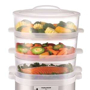 Morphy Richards White 3 Tier Steamer - £27.99 @ Morphy Richards