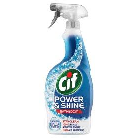 Cif Power & Shine Bathroom Spray (700ml) was £3.50 now £1.50 (Rollback Deal) @ Asda