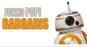 funko pop vinyl deals starting from £4.99 @ ForbiddenPlanet