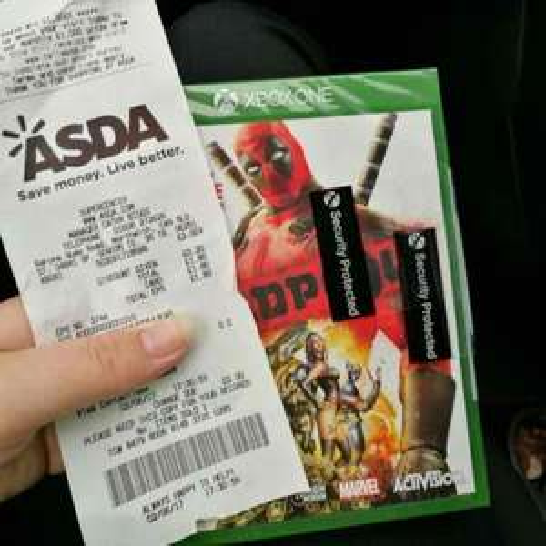 Deadpool Xbox One £1.80 instore @ Asda Northwich