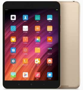 Xiaomi Mi Pad 3 in Gold (Android 7, 2K 7.9 inch, 4GB RAM, 64GB eMMC, 6600mA battery, 13MP camera, tablet) for £198.08 @ Geekbuying