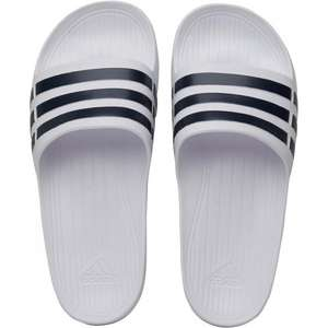 adidas Mens Duramo Slide Sandals White/Collegiate Navy/White £3.69 + £4.49 Del @ M&M (Free Del wys £75)