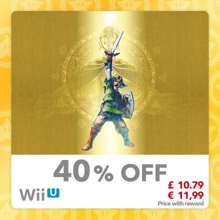 The Legend of Zelda: Skyward Sword[WiiU] £10.79 [60 Gold Coins] @ MyNintendo