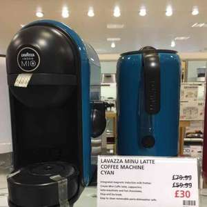 Lavazza Minu Latte coffee machine £30 instore Waitrose (Cheltenham)