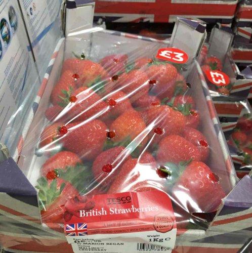 Strawberries 1Kg £3 in-store @ Tesco