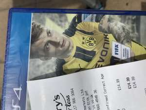 Fifa 17 ps4/xbone instore @ Sainsbury £14.99