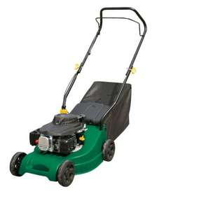 Value LM40 Hand Pushed Petrol Lawnmower at B&Q for £70