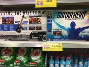 Guitar Hero Live (for IPhone/IPad/IPodTouch) £9.99 @ Home Bargains